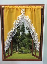 DOLLHOUSE MINIATURE  WINDOW CURTAIN ...WC004