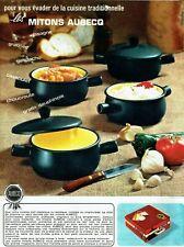 Publicité Advertising 079  1965  Aubecq   casseroles  les mitons