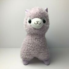 AMUSE Powa Powan Alpacasso Purple Girl (BIG 50cm) Arpakasso Plush Japan No Tag