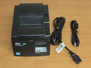 Star Micronics TSP143IIU TSP100II POS Thermal Receipt Printer w/ AC & USB Cables