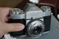 Vintage Germany Zeiss Ikon Contaflex SLR Camera with Carl Zeiss Tessar lens, #3