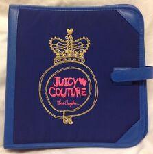 """JUICY COUTURE School Binder Folder 12"""" X 12"""""""
