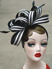 Womens Ladies Dress Fascinator Wedding Kentucky Derby Sinamay Hat  T222