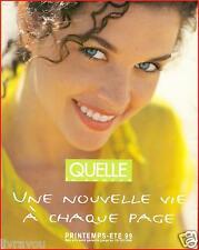 ▬► Catalogue QUELLE Printemps-Eté 1999  Mode  Fashion TTBE