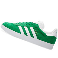 ADIDAS MENS Shoes Gazelle - Green, White & Gold - BB5477