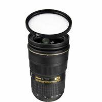 Nikon AF-S Nikkor 24-70mm f/2.8G ED Autofocus Lens w/77mm UV Filter
