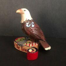 Jim Shore Home of the Brave Patriotic Eagle Mini Figurine 4037682 Enesco
