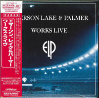 EMERSON,LAKE&PALMER-WORKS LIVE-JAPAN 2 MINI LP CDs I19