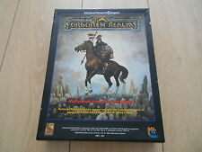 Advanced Dungeons & Dragons - FORGOTTEN REALMS Vademécum de Campaña - rol ZINCO