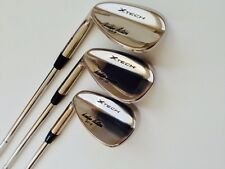 Left Hand  Sand Wedge/Wedges  3 Piece Set 52 - 56 - 60 Steel Shaft