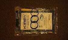 3 Genuine Kirby 197201 Micron Magic HEPA Bags & 3 Genuine 301291 Knurled belts