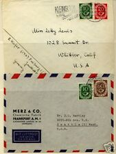 Gremany  posthorn  stamp  on cover