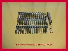 HONDA CBR600 CBR1000 RR CBF V2A Schrauben Edelstahl Motorschrauben Schraubensatz