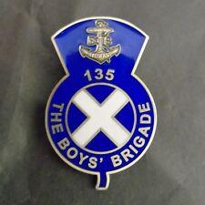 NEW Boys' Brigade 135 Badge