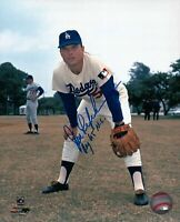 "Jim Lefebvre Signed 8X10 Photo ""ROY 65 NL"" Autograph Dodgers Color Auto w/COA"