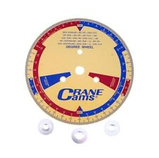 """Crane Cams 99162-1 - Degree Wheel with Adapters 9-1/2"""""""