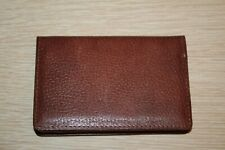 Genuine Brown Leather ASIANA AIRLINES Exclusive Bifold Style Card Wallet