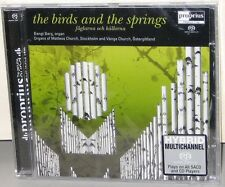 PROPRIUS SACD PRSACD-7742: The Birds and the Springs, BENGT BERG, 2006 SWEDEN SS