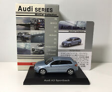 Kyosho 1/64 Audi A3 Sportback Diecast Minicar Model Collection Blue