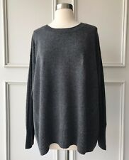 | COUNTRY ROAD | boat neck curve knit charcoal | NEW | $119 | SIZE:XS,S,M,L,XL |