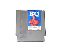 GEORGE FOREMAN'S KO BOXING Nintendo NES cartridge NTSC videogame