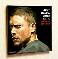 Michael Scofield Painting Decor Print Wall Art Poster Canvas