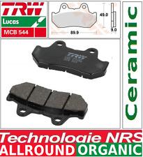 2 Plaquettes frein Avant Organic TRW MCB544 Honda NSR 400 R (NC19) 85-
