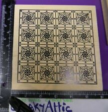 Stars Swirl Quilt Medallion Abstract Flowers Circle Rubber Stamp Outlines Co.
