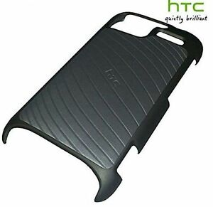 Genuine HTC Hard Shell Snap-On Case Cover For HTC Sensation - Grey