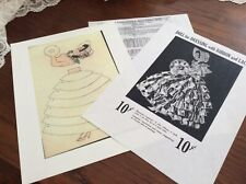 Original Ribbon Doll Pattern ~ Dol-Lee-Dolls Mass Reproduction ~ Free Shipping