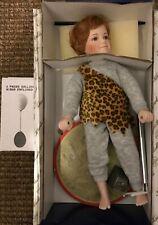 """Ashton Drake Knowles Johnny the Strongman 11"""" Porcelain Doll Boxed"""