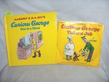 #539 - Curious George: Curious George Goes to a Movie  - plus Bonus Record