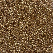 Miyuki Delica Size 11/0 Seed Beads Lust Mettalic Rose Gold in 7.2g Tube (B78/8)