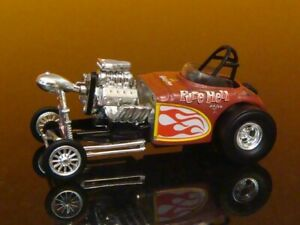 Vintage Drag Racing 1964 64 Fuel Altered Pure Hell Dragster 1/64 Scale Ltd Q