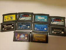 GBA Games Lot Spiderman Star Wars Disney Superman