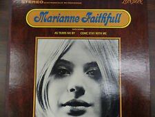 MARIANNE FAITHFUL  33 RPM GOOD+  111115 TLJ