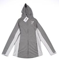 Gymshark Fit Zip Men Workout Athletic Hoodie Size S, NEW