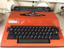 Schreibmaschine T. A. Vertriebs GmbH Mod.l Emt 70er Jahre made in holland orange