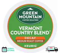 Green Mountain Vermont Country Blend DECAF Keurig Coffee K-cups PICK THE SIZE