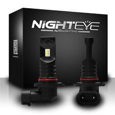 NOVSIGHT H10 160W LED Fog Light Bulbs Car Driving Lamp DRL 6500K Cool White USA