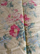 Ralph Lauren Home PARSONAGE Lane Floral Yellow Full/Queen Comforter Vintage
