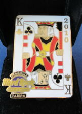 Hard Rock Cafe Casino Tampa FL - Ltd Ed. KING Card Pin- 1 of 300 made