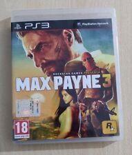 MAX PAYNE 3 PS3 ITALIANO PLAYSTATION 3 COMPLETO