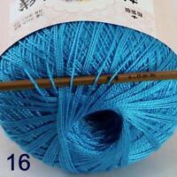 Thread No.8 Cotton Crochet Hand Yarn Craft Tatting Knit Embroidery 50g/400y 16