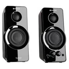 Altavoces para PC WOXTER Big Bass 95 2.0 - 20W Conector Jack 3.5mm Ent. Auxiliar