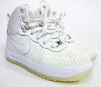 Nike Lunar Force 1 Duckboot (GS) Big Kids Shoes White 882842-100 Size 4Y