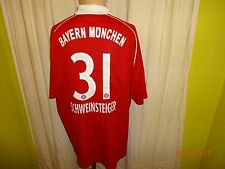 FC Bayern München Original Adidas Trikot 2005/06 + Nr.31 Schweinsteiger Gr.XXL