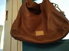 Michael Kors leather bag  medium size used with gold hardware