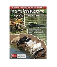 NEW Hunting DVD - Back to Basics - Just Pigs, Goats and Foxes - Hunt Shooting