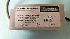 Macron Triacelv Dimmable Class 2 Constant Led Driver 120vac 5060hz 15w